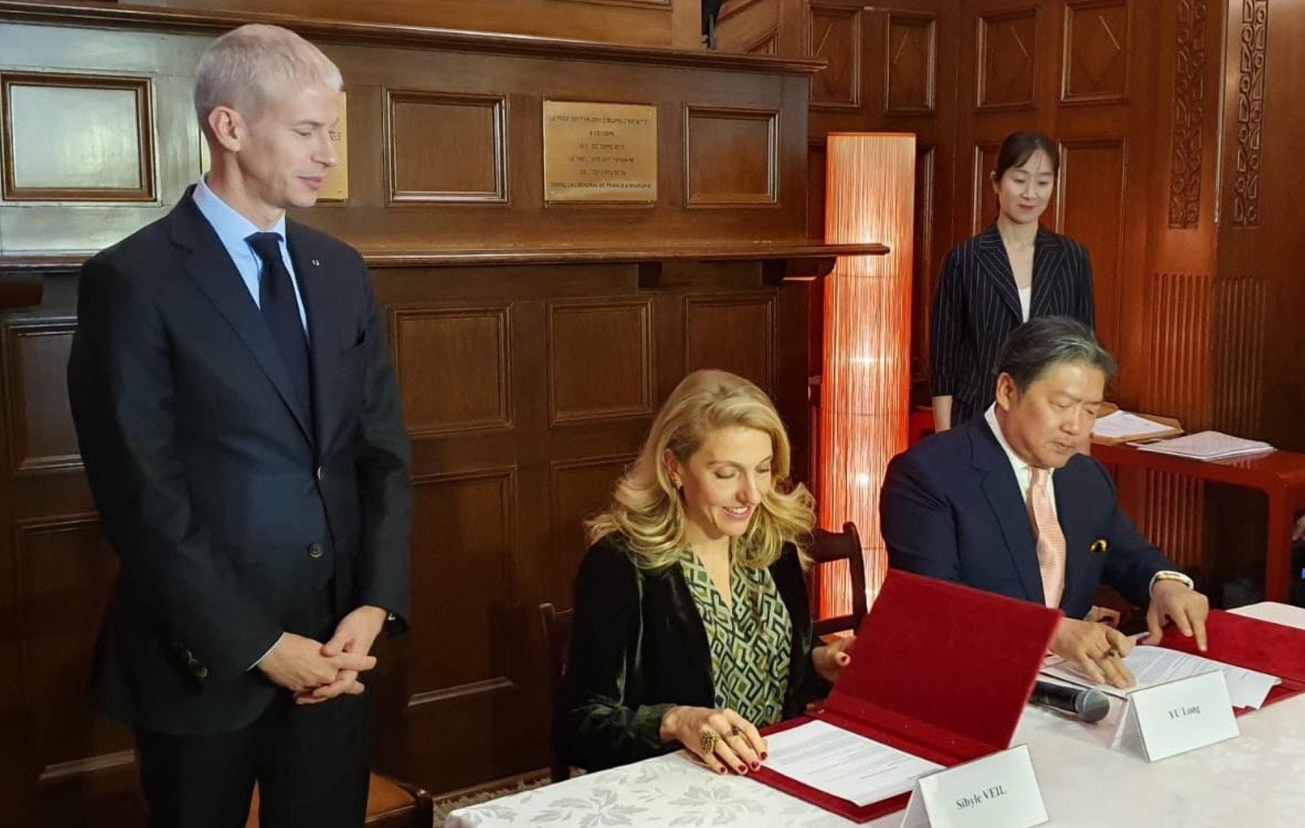 Partenariat entre Le Philhar' de Radio France et le China Philharmonic Orchestra