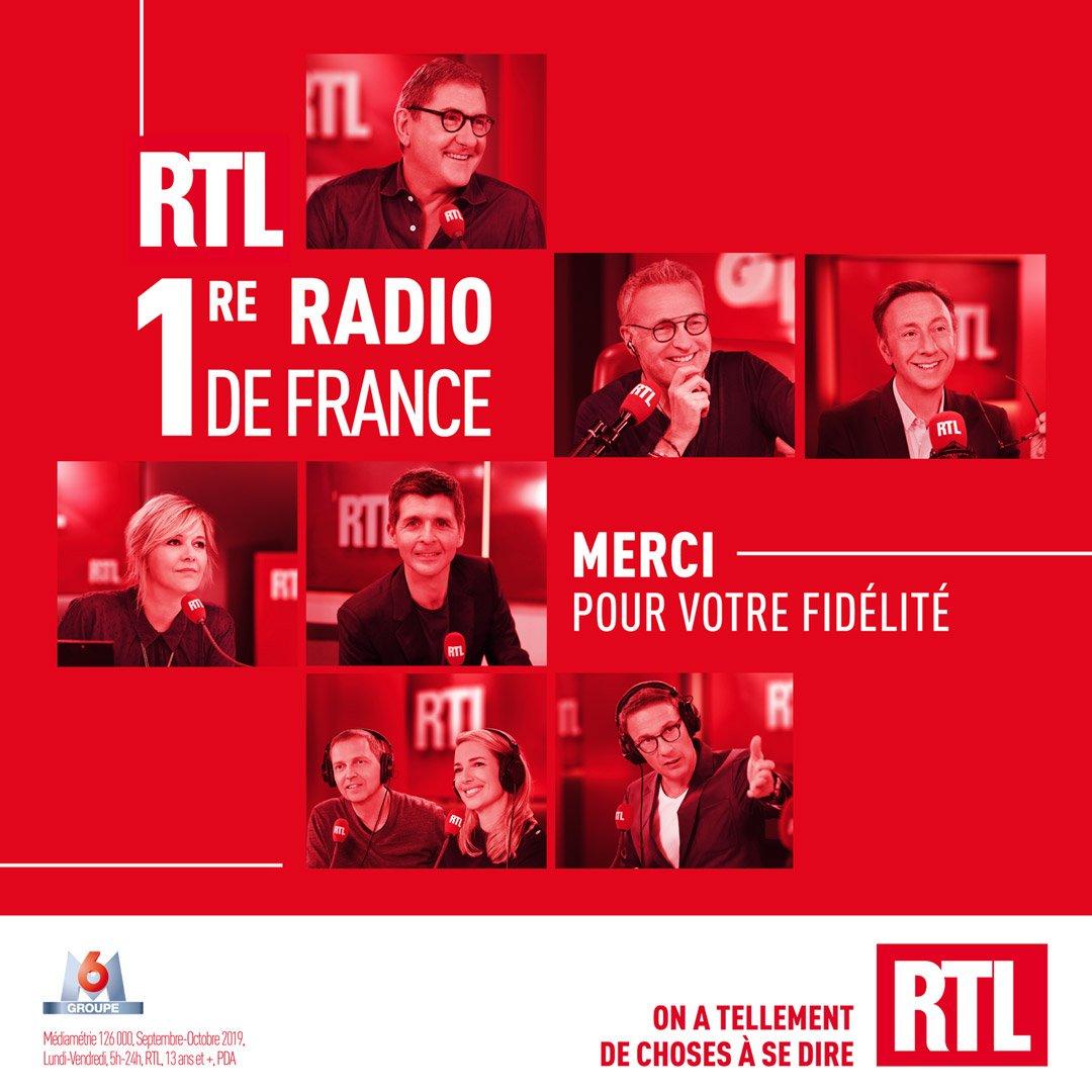 """RTL revendique sa place de """"Première radio de France"""""""