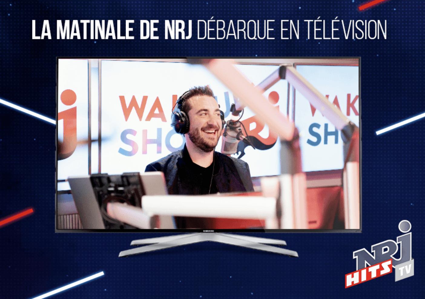 NRJ Belgique : la matinale désormais à la télévision