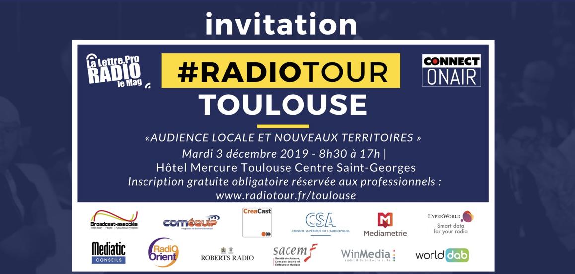 Ce mardi, c'est la dernière étape du RadioTour à Toulouse