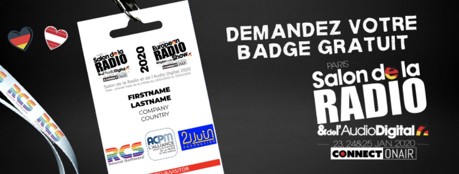 Voici le pré-programme du Salon Radio 2020