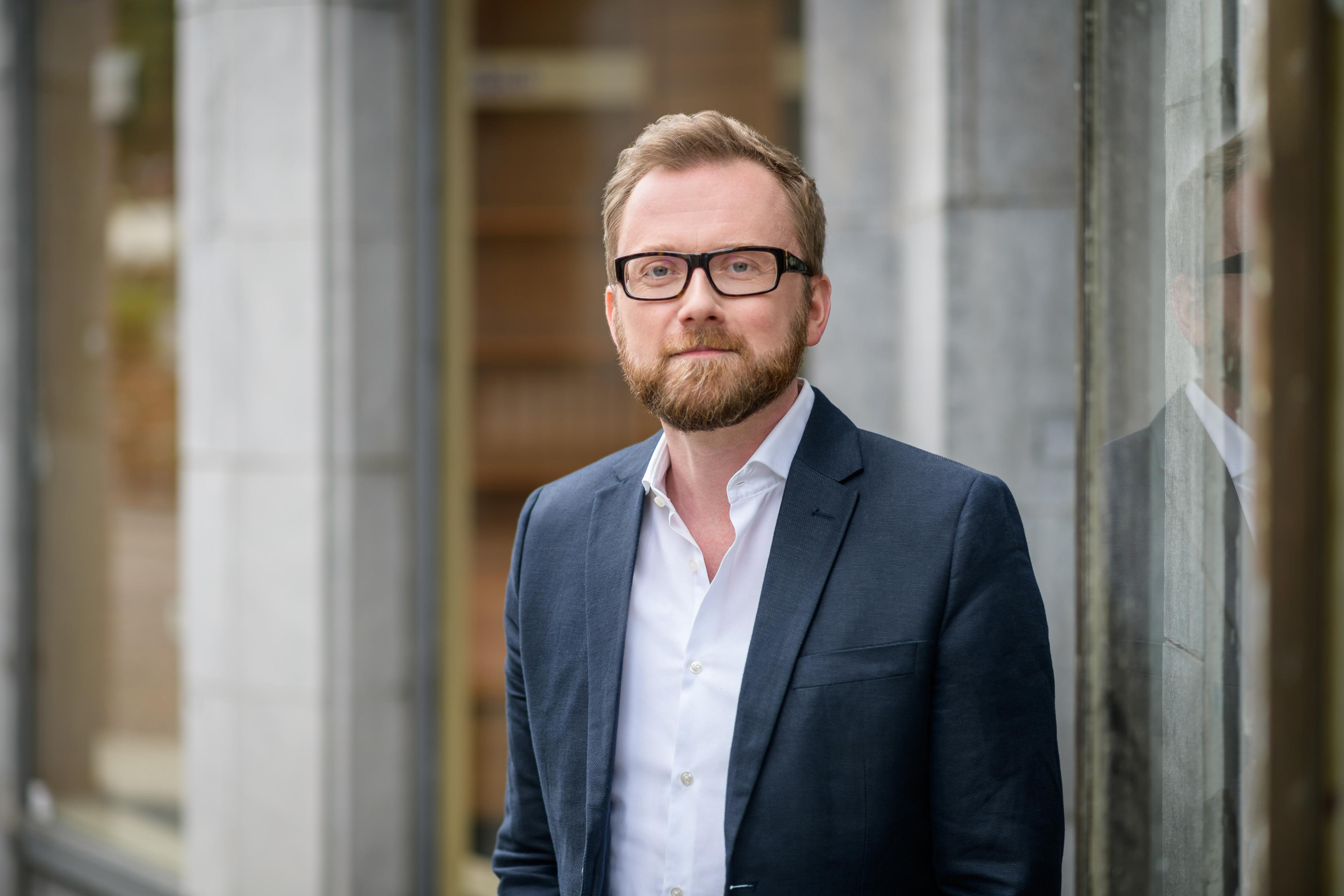 Torsten Birenheide est le directeur de Radio PSR. Il est confiant quant à l'avenir de la radio.