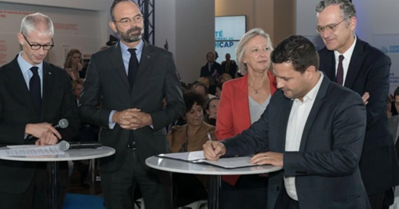 À Radio France, le taux d'emploi des personnes en situation de handicap s'élève au 31 décembre 2018 à 5.82% ©Radio France