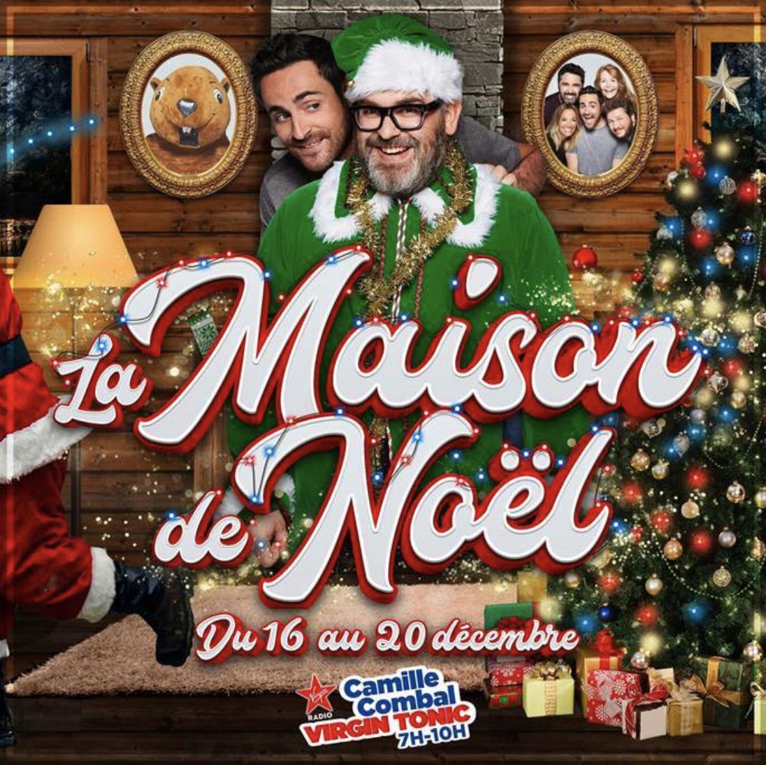 """Virgin Radio : la matinale ouvre la """"Maison de Noël"""""""