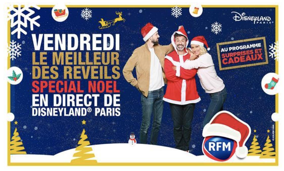 La matinale de RFM en direct de Disneyland Paris