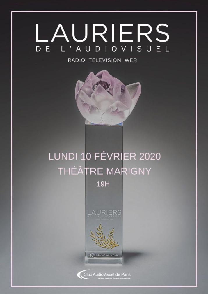 Une nouvelle et 25e cérémonie des Lauriers de l'Audiovisuel