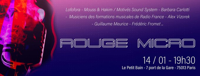 Un concert de soutien à Radio France
