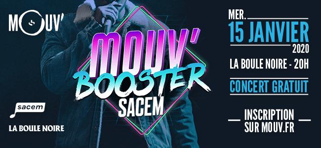 Mouv' et la Sacem réaffirment leur engagement en faveur des nouveaux talents du rap français