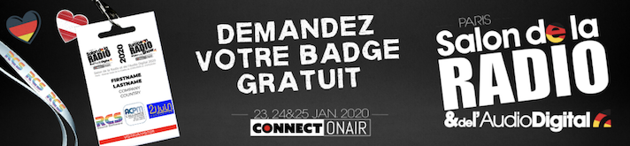 "La Radio du Salon de la Radio à nouveau ""On Air"" durant 3 jours"