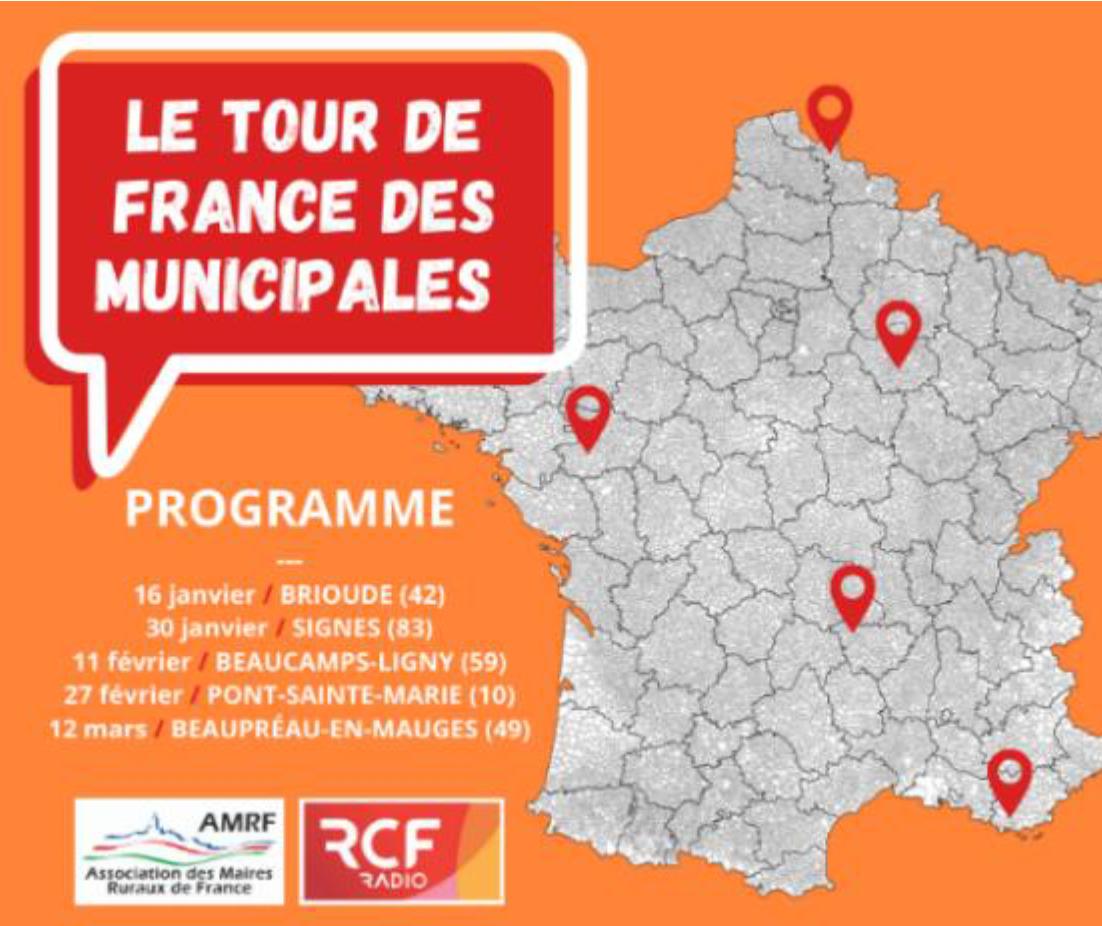 RCF : les élections Municipales avec l'AMRF