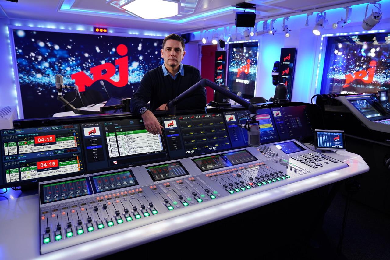 Alain Reyes, directeur technique NRJ Audio.