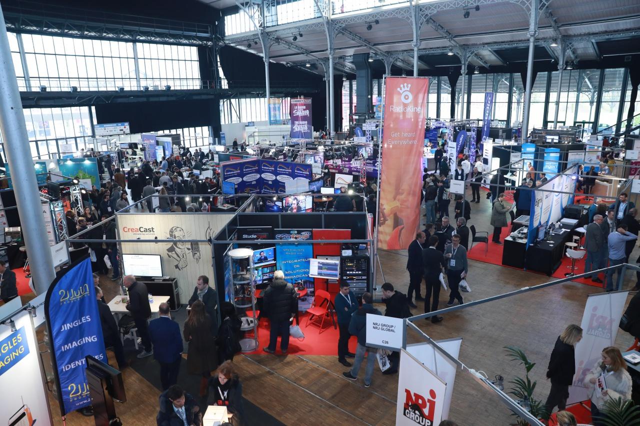Le Salon de la Radio et de l'Audio Digital aura lieu du 23 au 25 janvier à la Grande Halle de la Villette à Paris