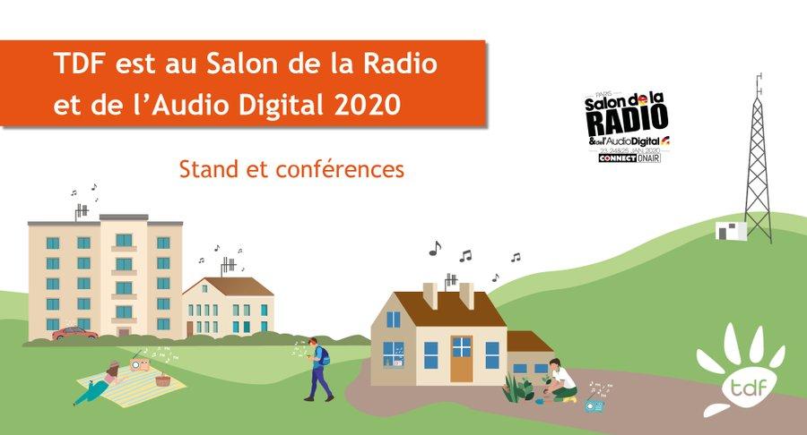 TDF présent au Salon de la Radio et de l'Audio Digital