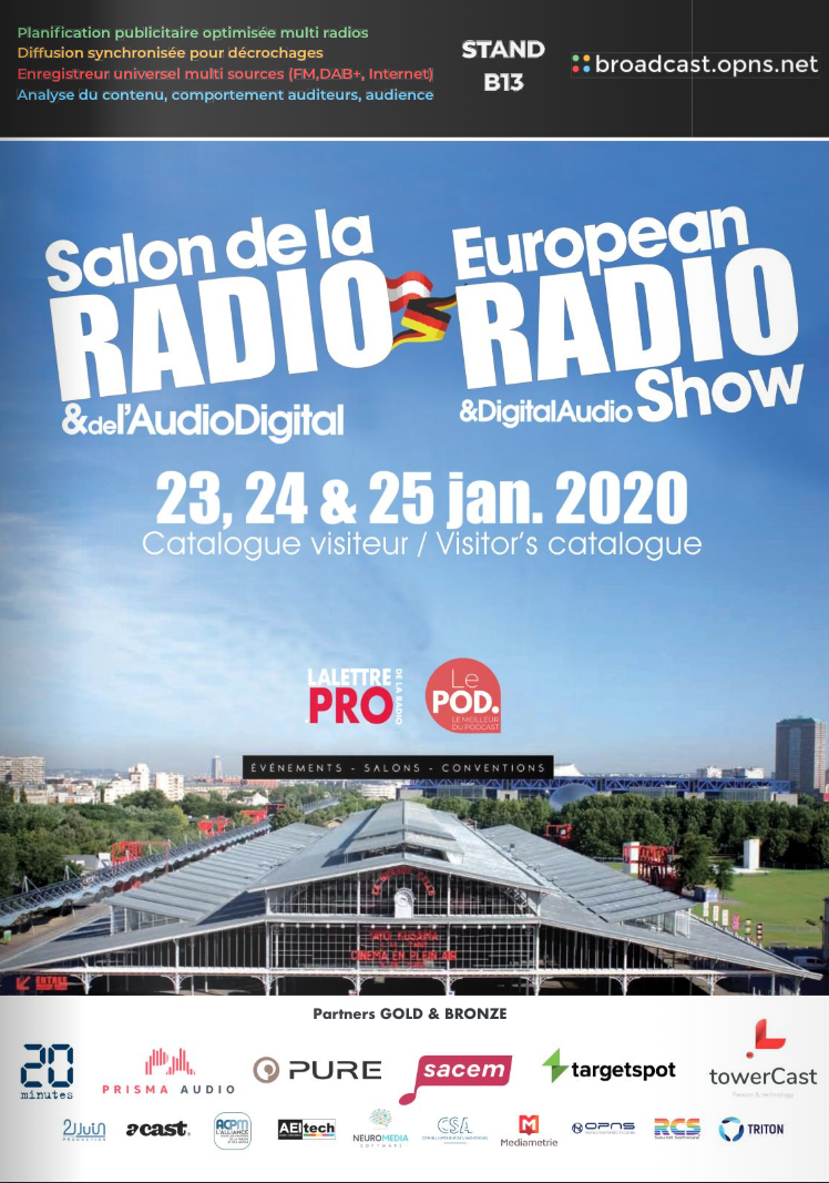 Téléchargez le catalogue officiel du Salon de la Radio