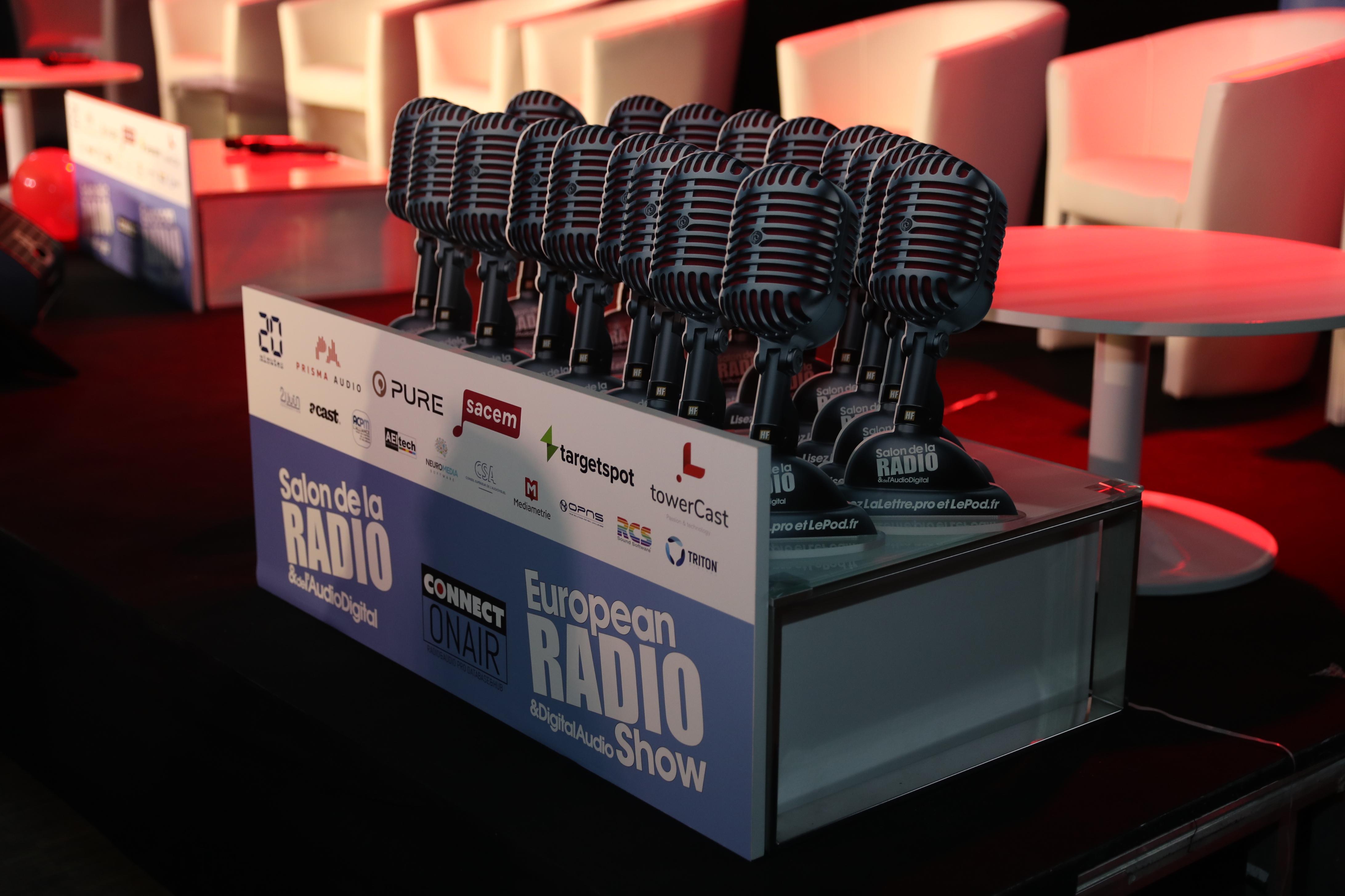 Des services et des outils récompensés au Salon de la Radio