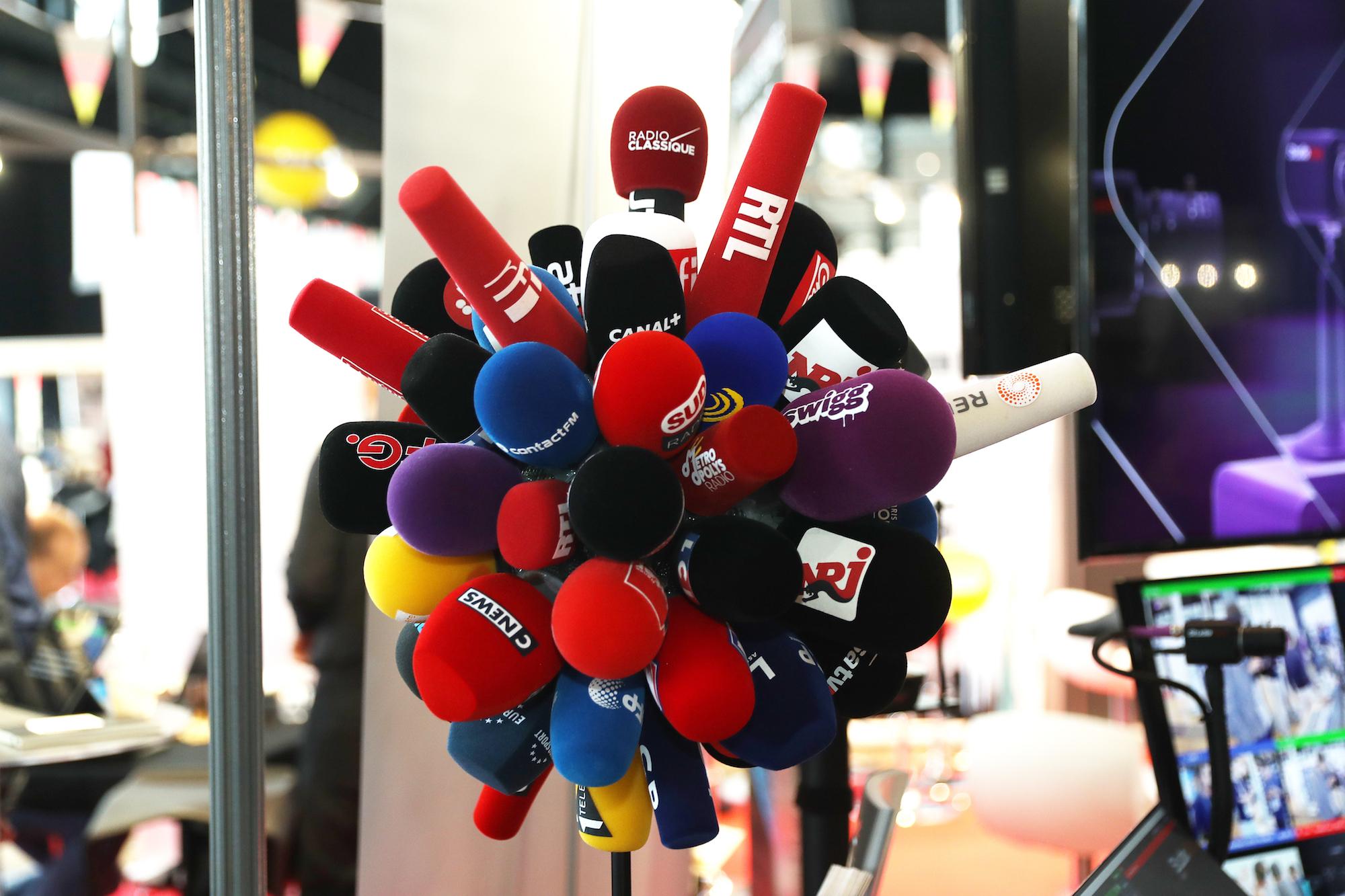 Un beau bouquet de bonnettes pour débuter cette deuxième journée au Salon de la Radio et de l'Audio Digital