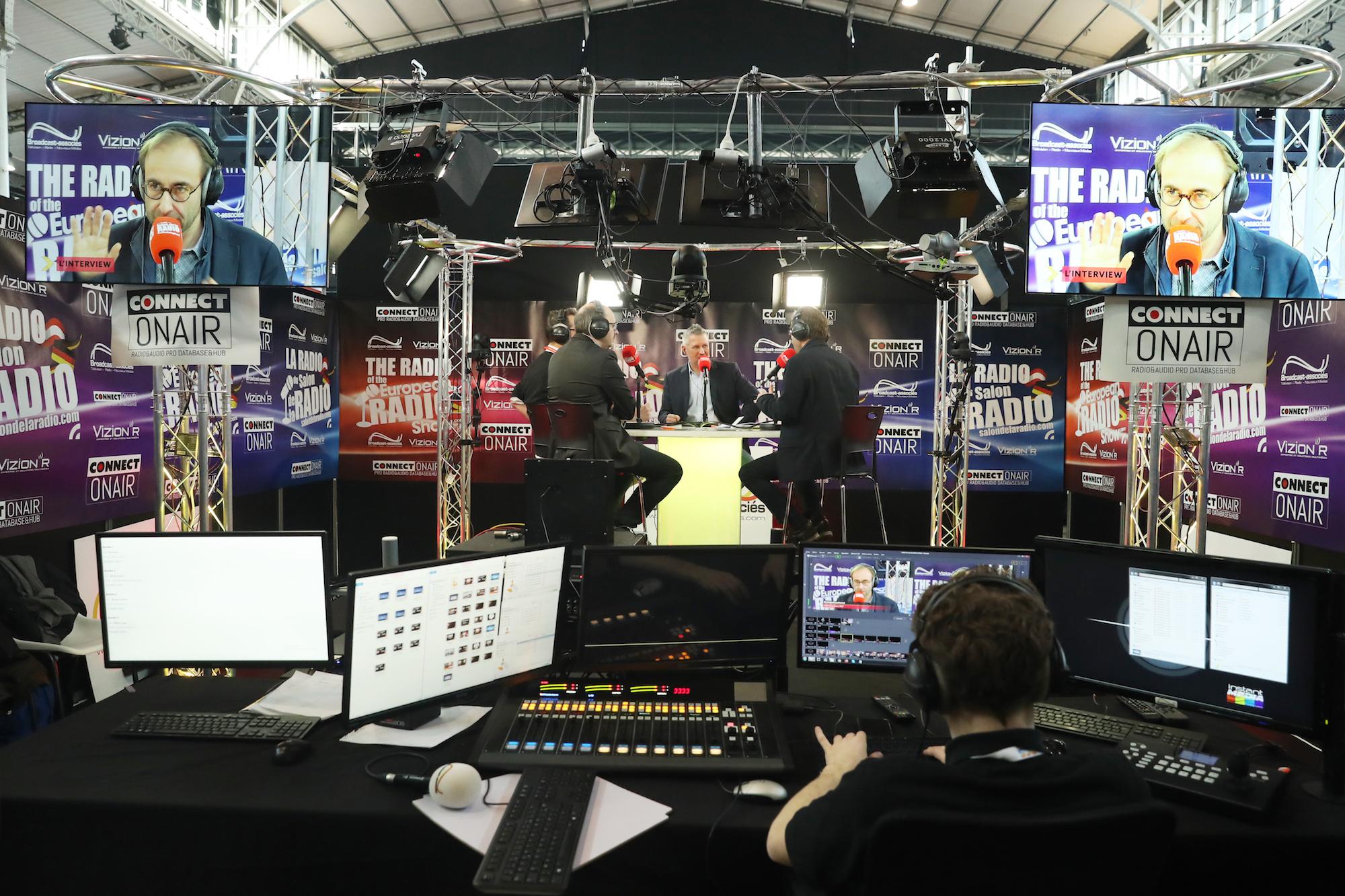 Enc ore une fois, La Radio du Salon de la Radio a accueilli les professionnels grâce à un flux retransmis en FM et en DAB+ à Paris et en Île-de-France