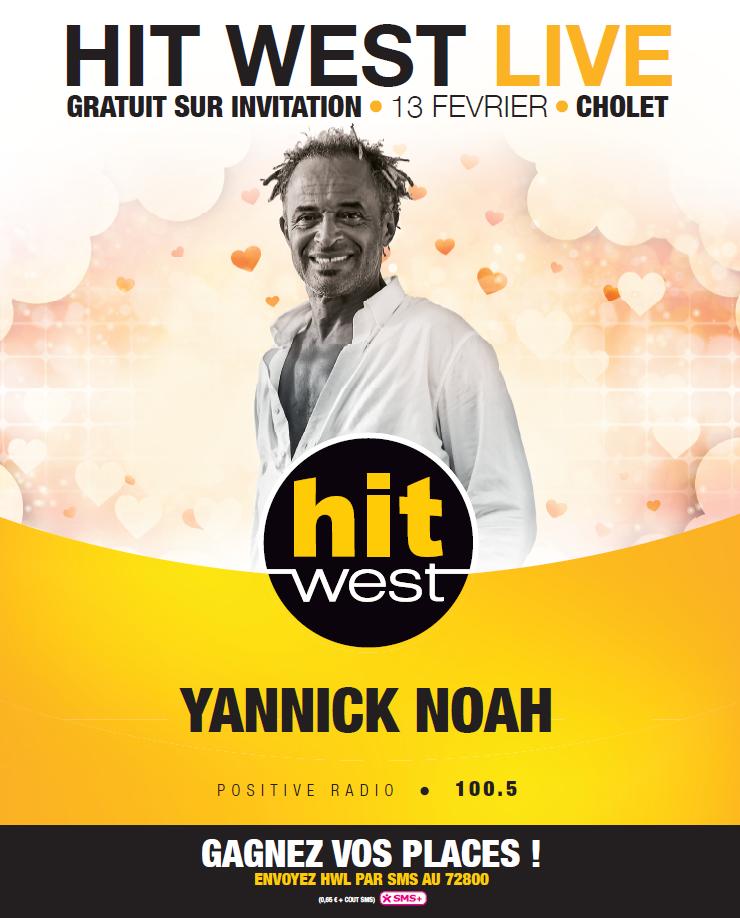 Hit West : un concert avec Yannick Noah