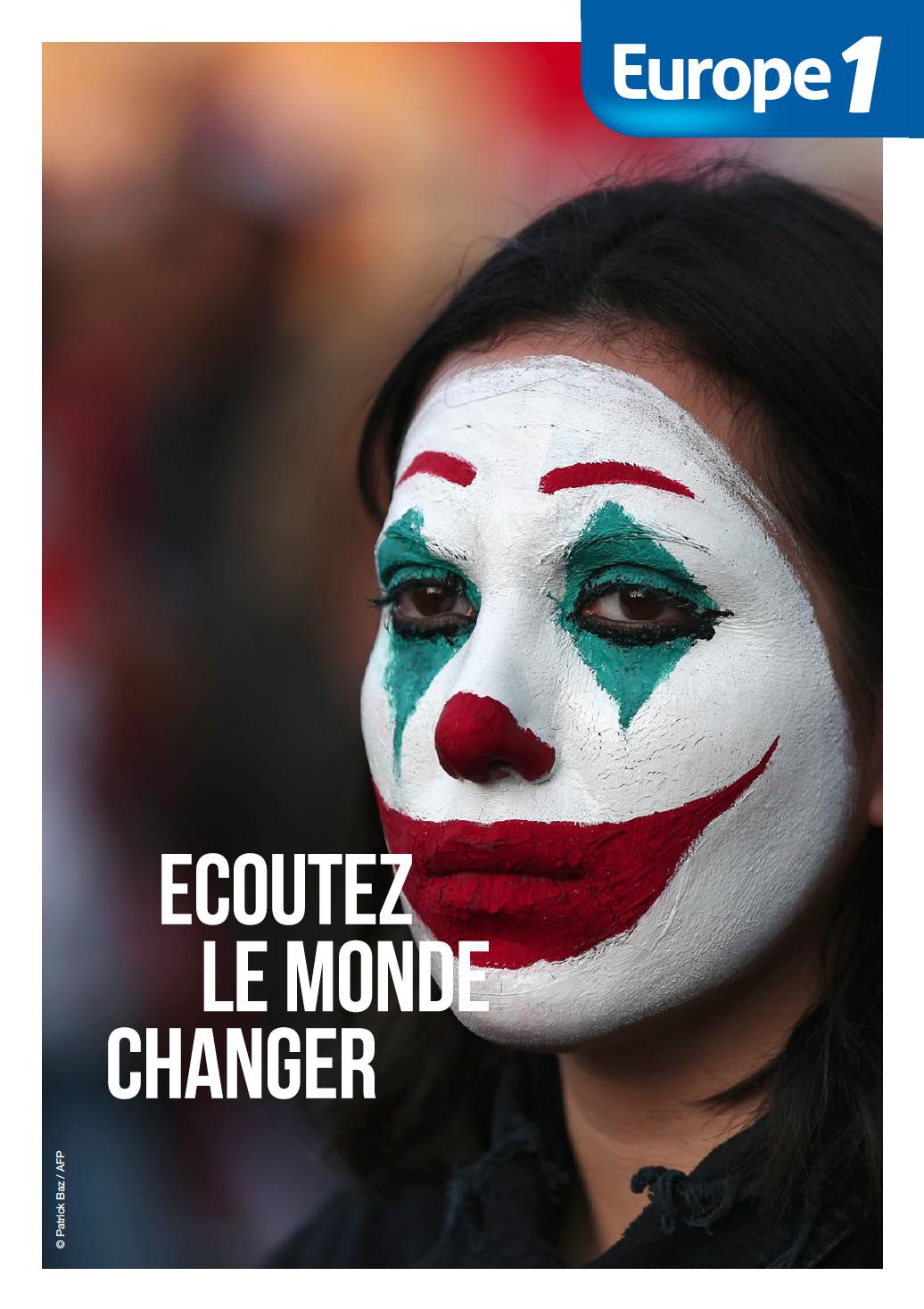 """Europe 1 : 2e campagne """"Écoutez le monde changer"""""""
