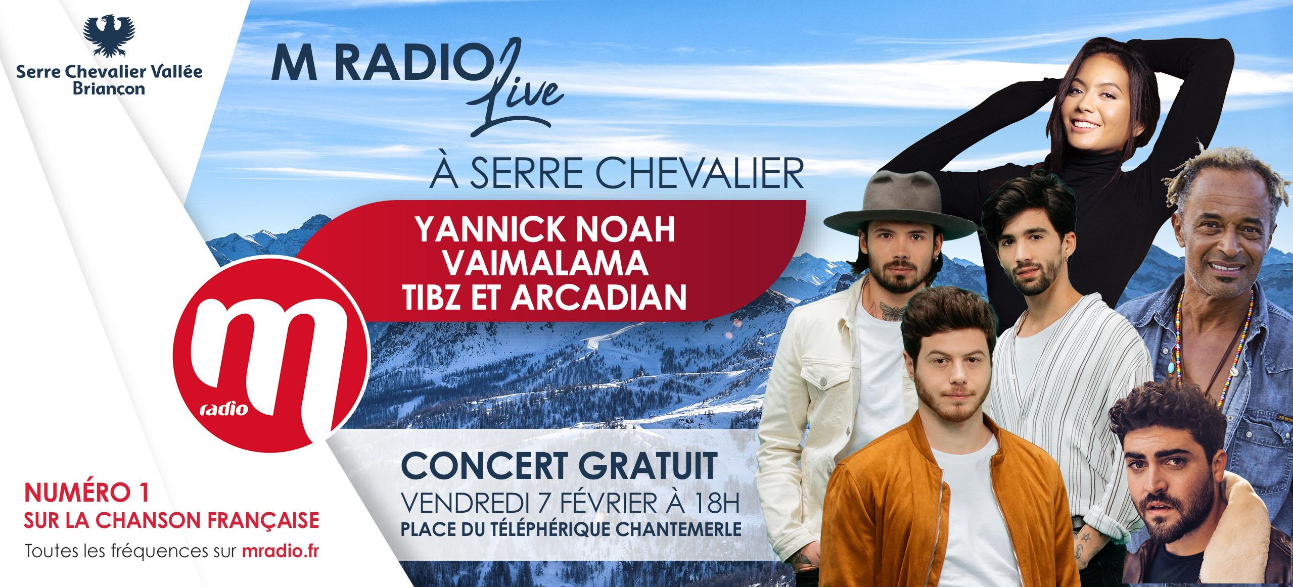 M Radio prend de l'altitude à Serre-Chevalier
