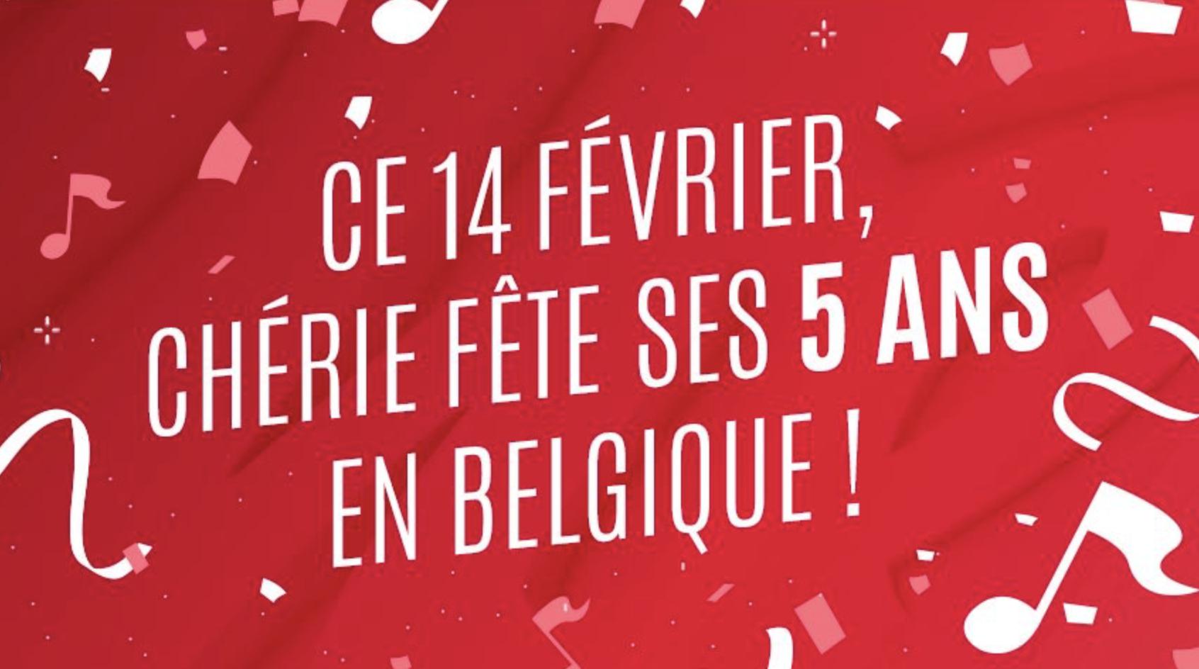 Belgique : Chérie fête son anniversaire