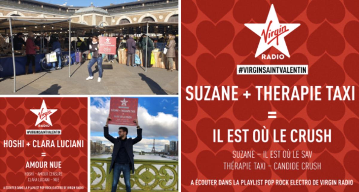 Virgin Radio parcourt la France pour fêter les amoureux