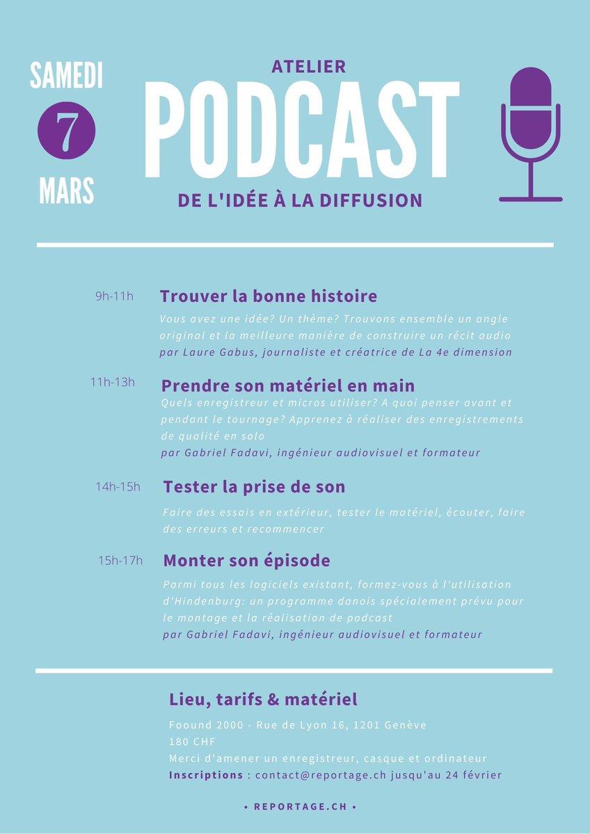 Suisse : une journée pour tout apprendre du podcast