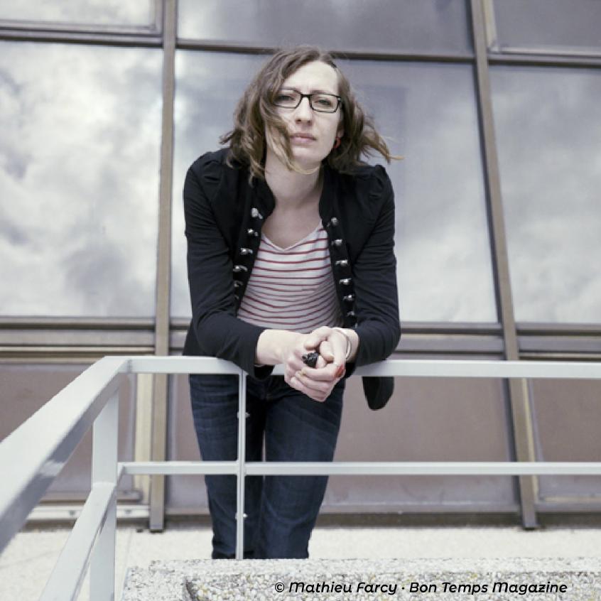 """Pour Jessica Vaillant, fondatrice et directrice de Radio Campus Amiens : """"la radio est une plateforme indispensable où toutes les voix peuvent être entendues et représentées. C'est le média le plus consommé""""."""