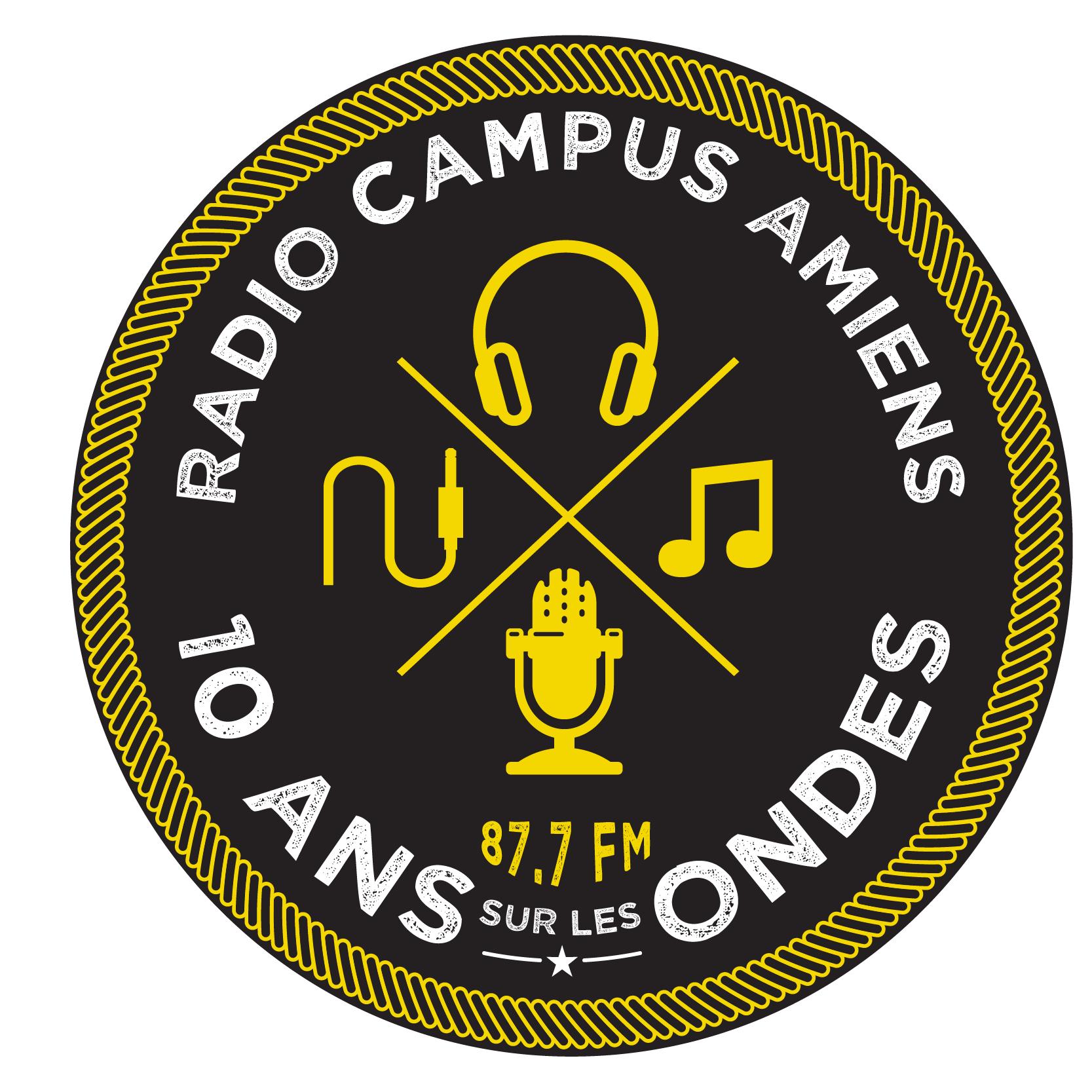 """""""10 ans - 10 événements"""" pour Radio Campus Amiens"""