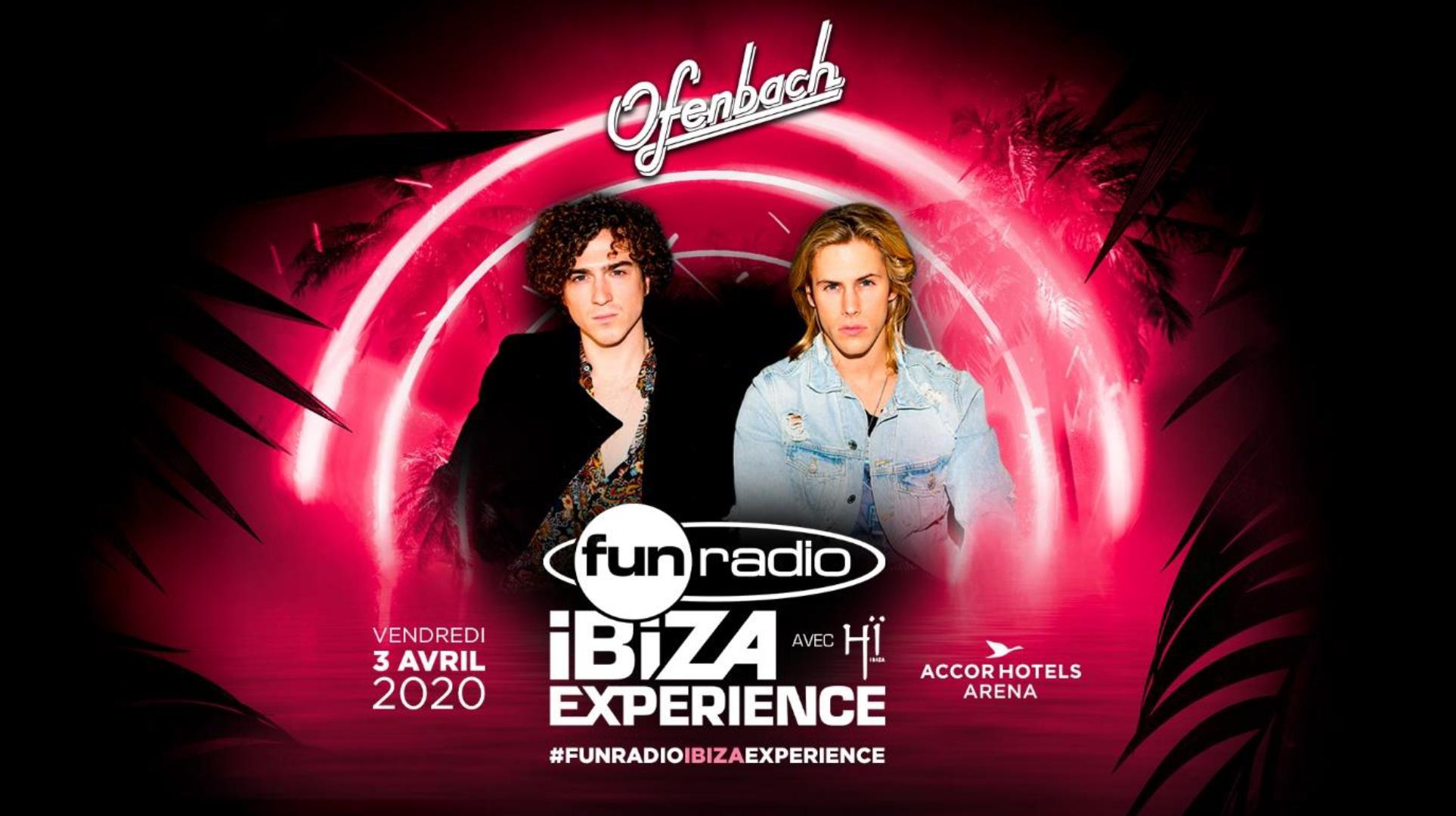 Ofenbach rejoint l'affiche de la Fun Radio Ibiza Experience