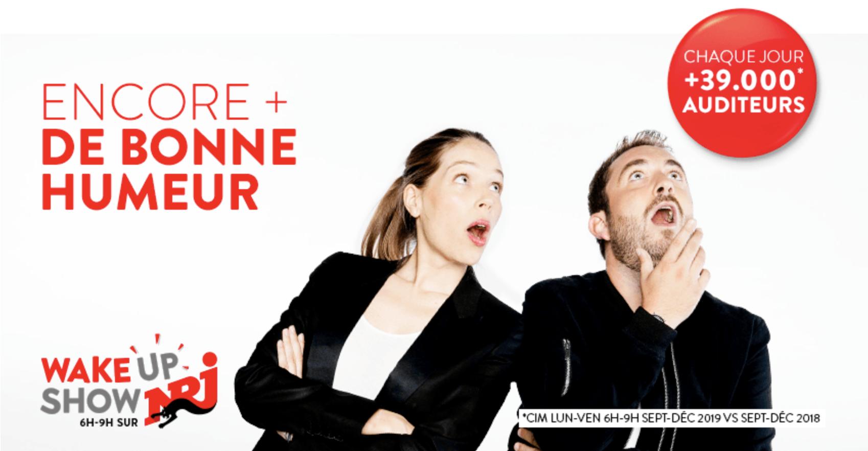 NRJ Belgique promet encore plus de bonne humeur