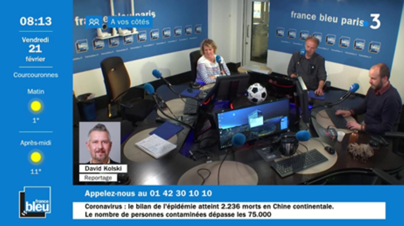 La matinale France Bleu Paris bientôt sur France 3