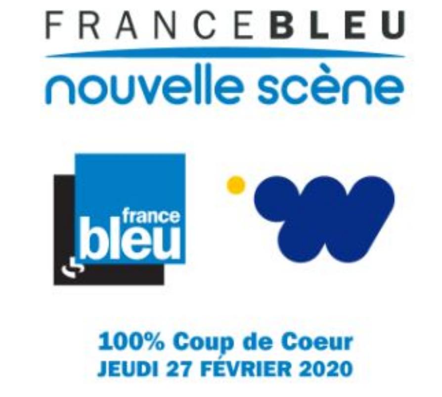 """France Bleu décerne son premier trophée """"100 % Coup de Coeur"""""""