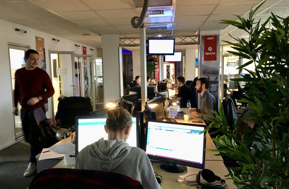 A2PRL rachetée par Médiameeting en 2014, fonctionne 24h/24. Photo A2PRL