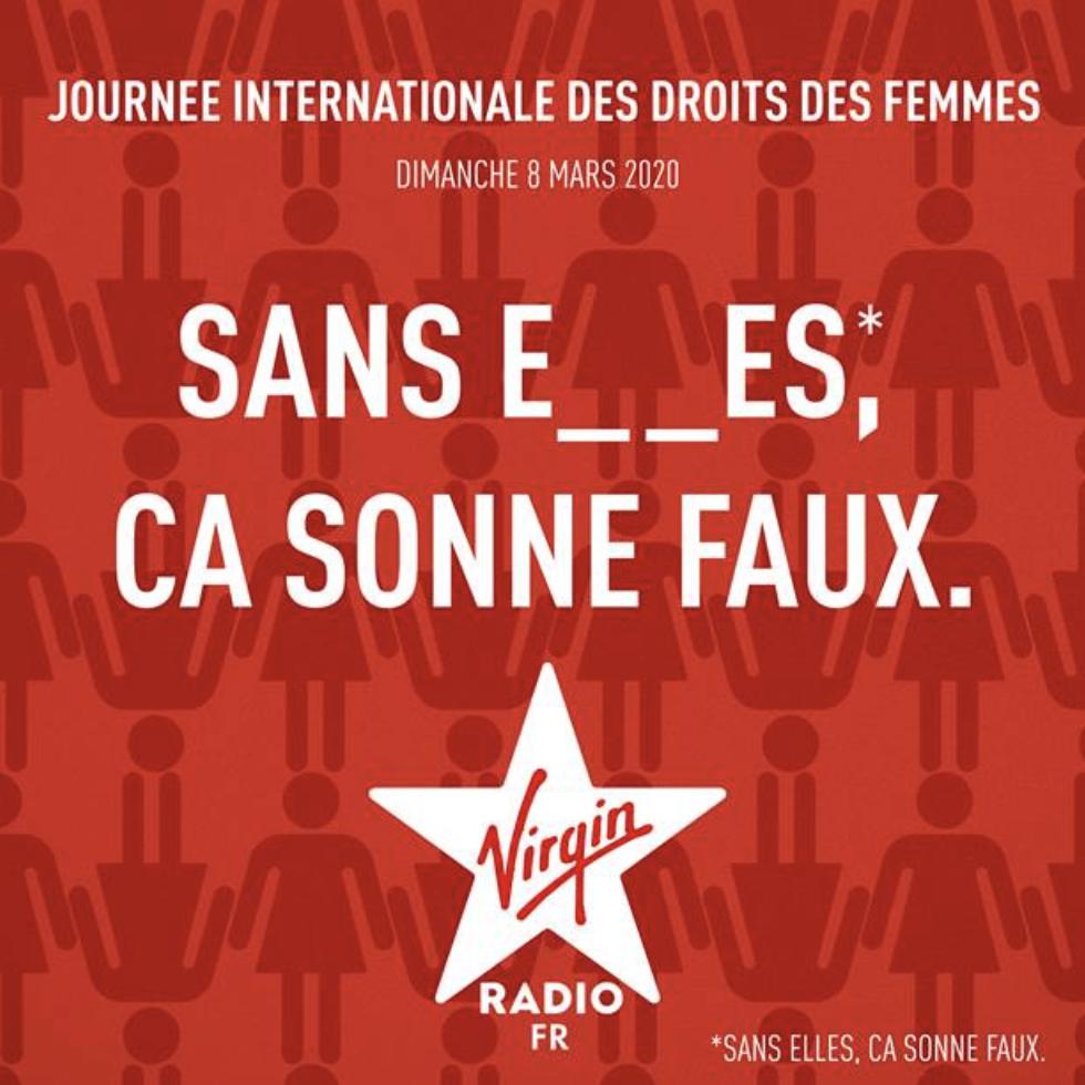 """Virgin Radio : une campagne dénommée """"Sans elles, ça sonne faux"""""""