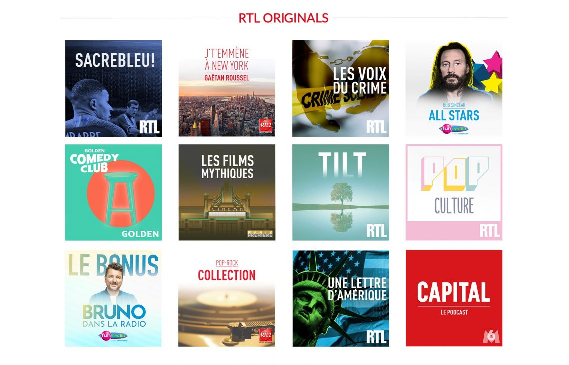 Podcasts : le Groupe M6 dévoile de nouveaux contenus