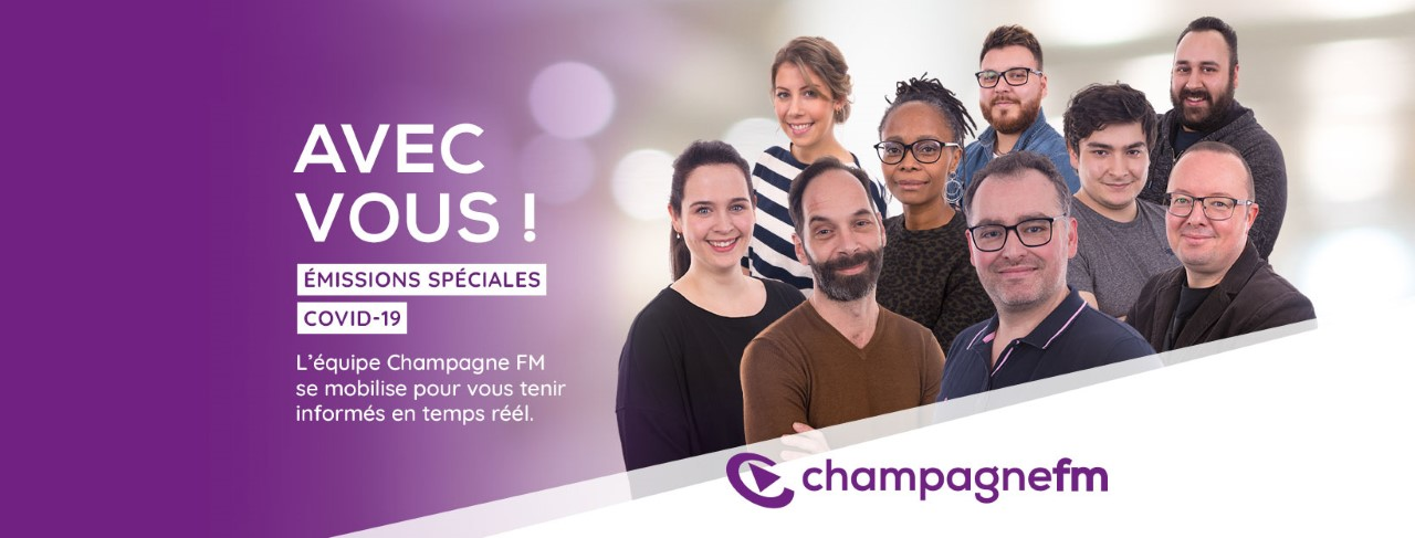 Covid-19 : Champagne FM mobilisée pour ses auditeurs