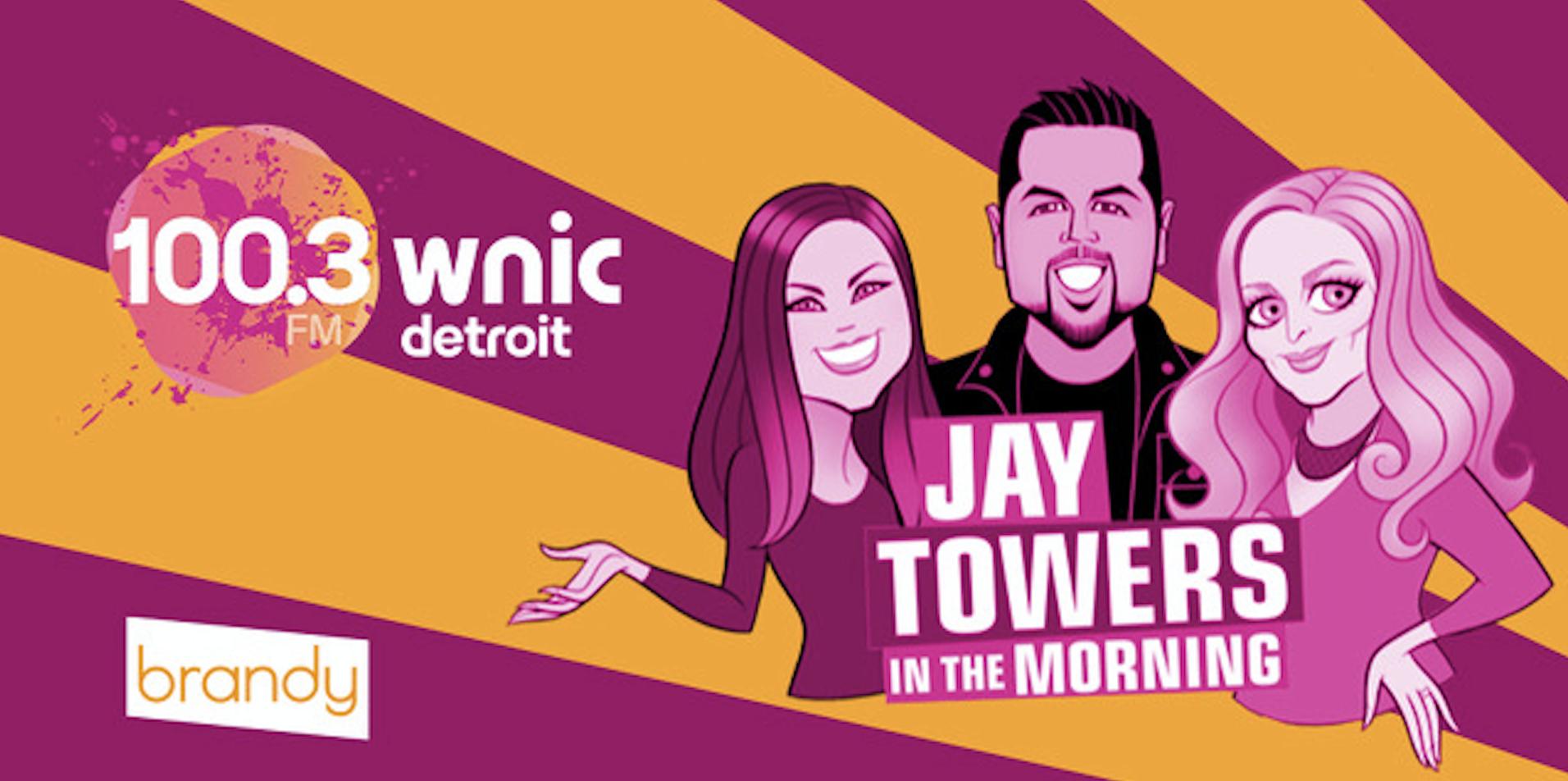 Jay Towers (WNIC) se démarque avec Brandy Jingles