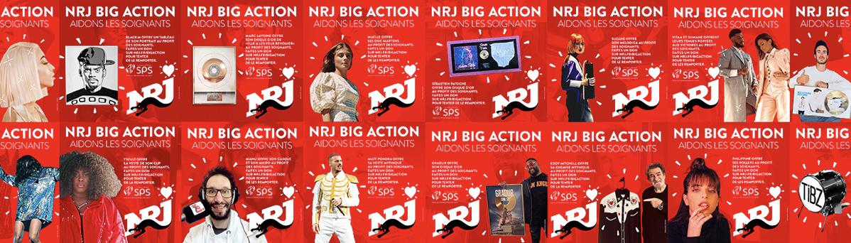 """Covid-19 : Toutes les générations d'artistes mobilisées pour """"NRJ Big Action"""""""