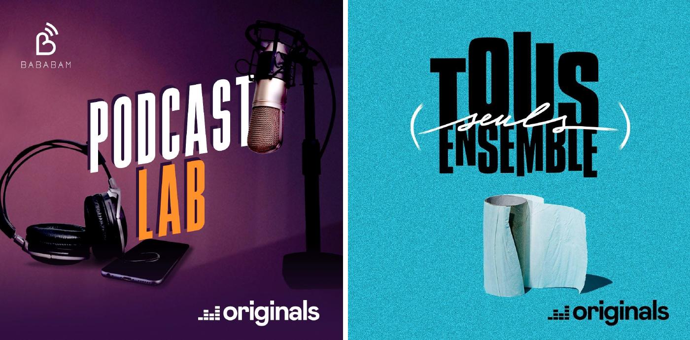 Deezer, en mode podcasts à la maison