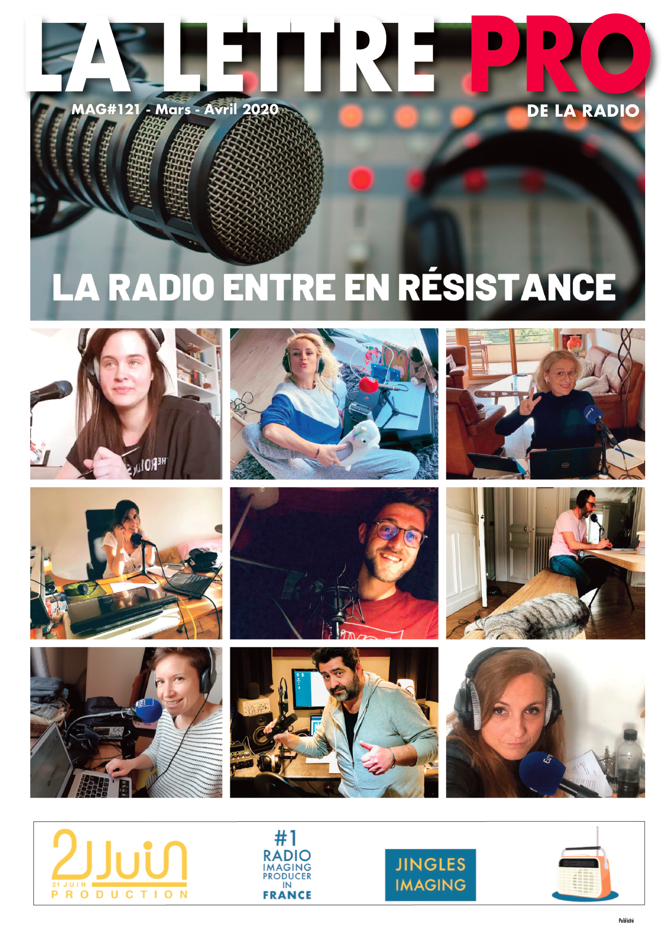 Téléchargez le 121e numéro de La Lettre Pro de la Radio