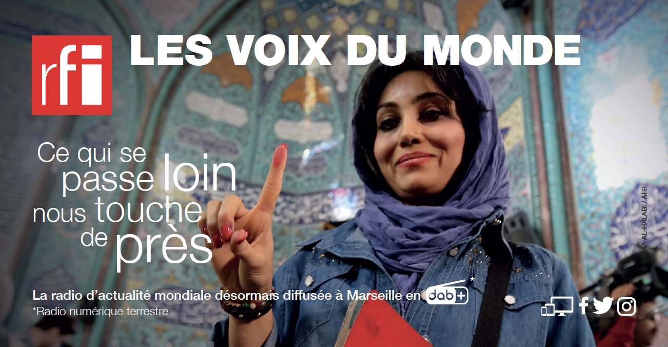 DAB+ : RFI diffusée à Marseille dès ce lundi