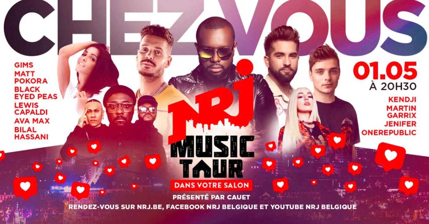 """NRJ prépare un """"NRJ Music Tour"""" dans votre salon"""