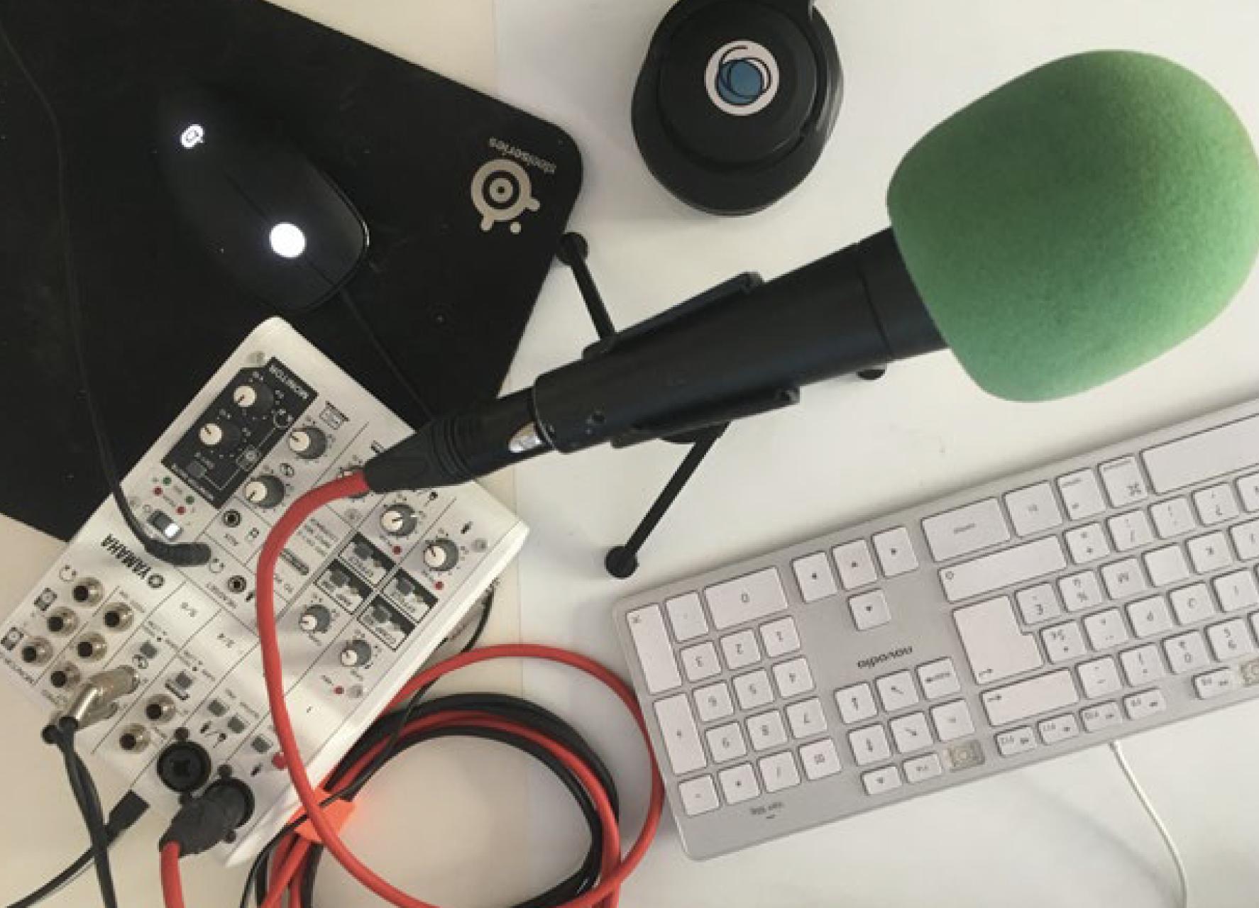 """Le programme Tac Tac Tac a formé près de 90 personnes l'an dernier, et vient d'adapter sa formation """"Le Sprint Podcast"""" dans une version à suivre en ligne"""