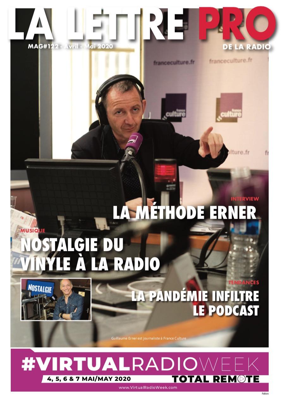 Téléchargez le 122e numéro de La Lettre Pro de la Radio