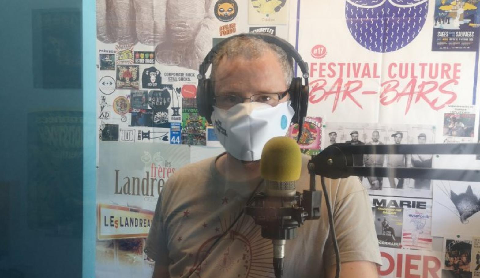 Des masques pour les radios de la FRAP