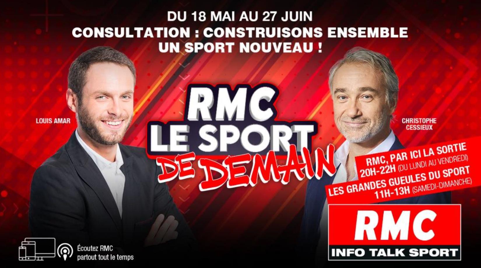 RMC lance une consultation sur le sport en France