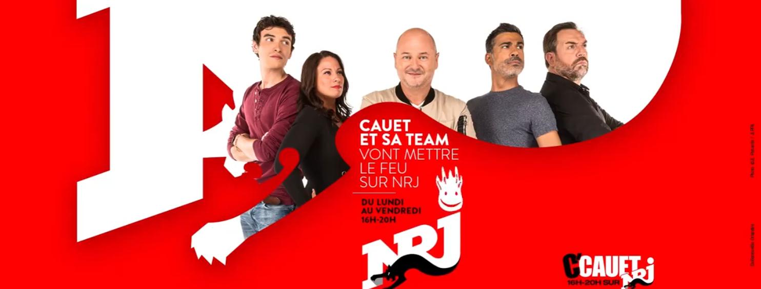 NRJ : Cauet signe pour 3 nouvelles saisons
