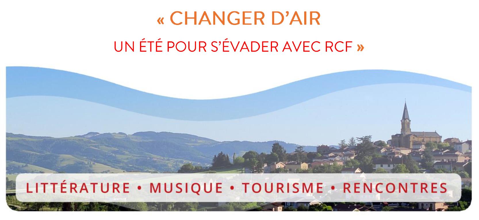 """RCF : 3 nouveaux podcasts pour """"changer d'air"""""""