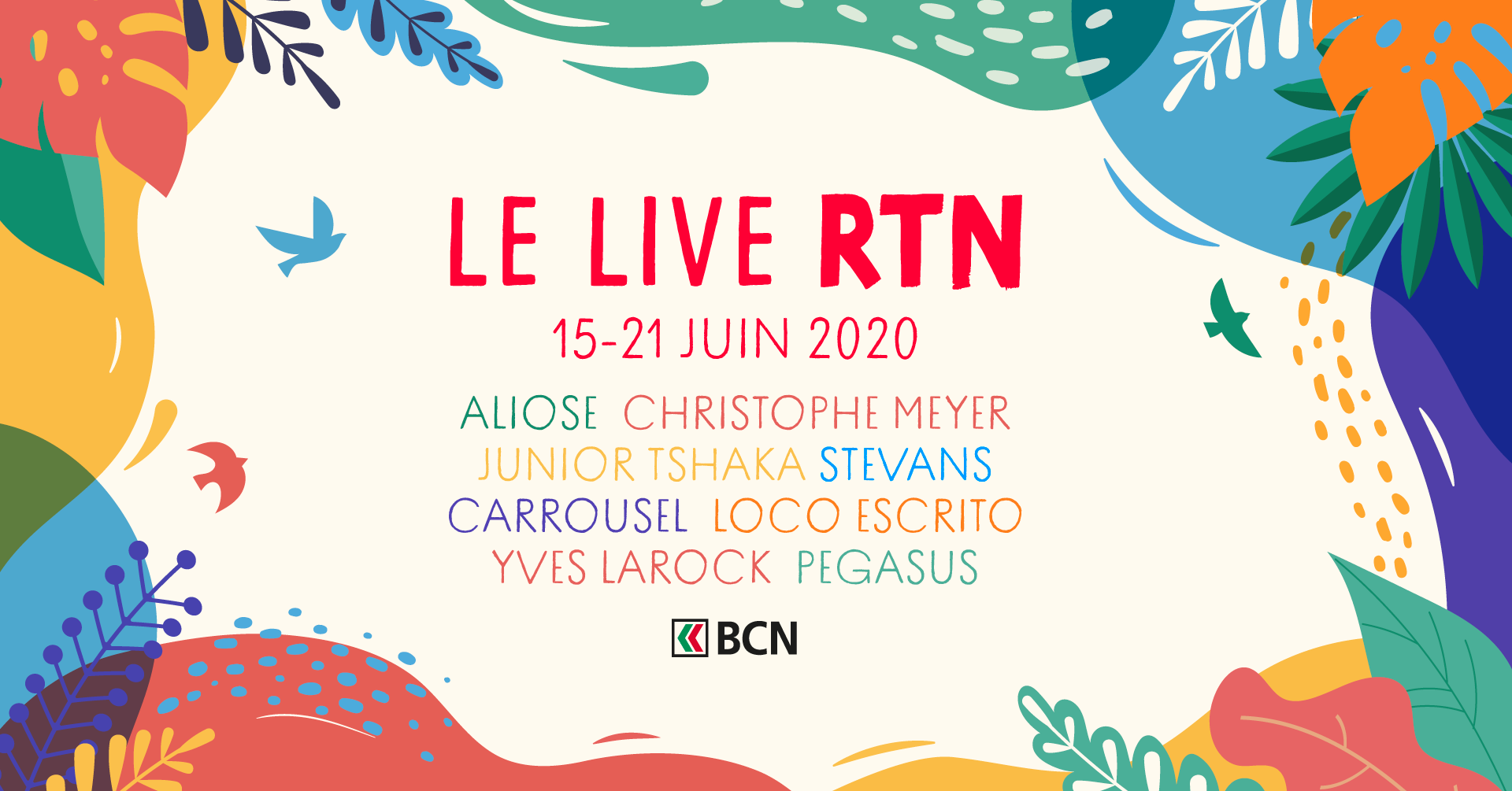 Les radios RJB, RTN et RFJ lancent leur festival
